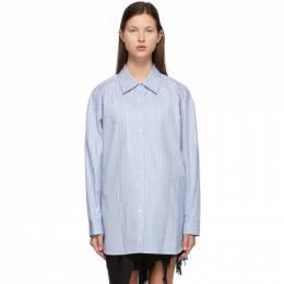 Alexander Wang Blue Crystal Hotfix Shirt 1WC2211421