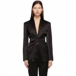 Alexander Wang Black Cinched Waist Blazer 1WC2212274