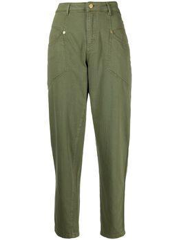 Ermanno Ermanno Scervino укороченные зауженные брюки D38ETJL07OPR