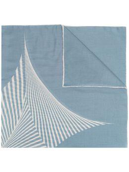 Agnona кашемировый шарф с полосками AS0115YH7022P