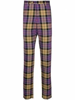 Vivienne Westwood клетчатые брюки строгого кроя 2102000811885
