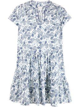 Saloni платье Ashley-B с принтом 1206