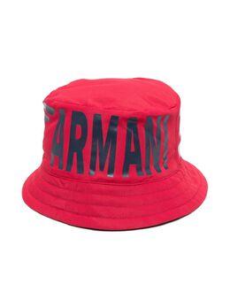 Emporio Armani Kids панама с логотипом 4043921P447