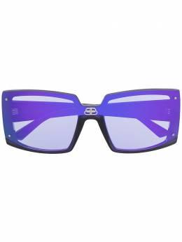 Balenciaga Eyewear солнцезащитные очки Shield BB0081S006