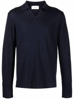 Officine Generale трикотажная рубашка поло S21MKNT309
