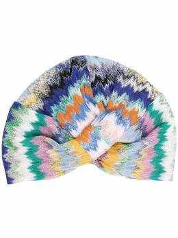 Missoni Mare шапка-тюрбан с вышивкой MMS00005BR00E8