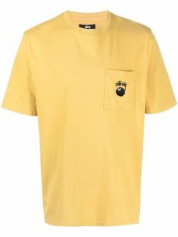 Stussy футболка 8 Ball с карманом 1140236