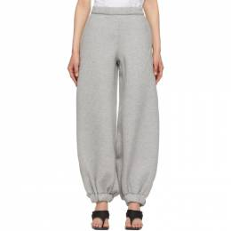 The Attico Grey Neoprene Carter Lounge Pants 212WCP33 C025