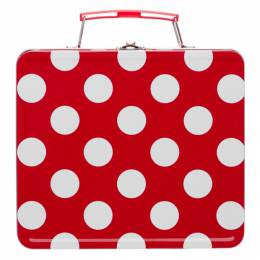 Comme Des Garcons Girl Red Polka Dot Top Handle Bag NG-K201-051