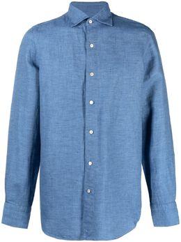 Finamore 1925 Napoli рубашка с длинными рукавами TOKYO081288P1006