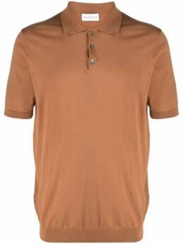 Ballantyne рубашка поло с манжетами в рубчик S2W00018C23