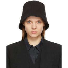 Low Classic Black Wrinkle Bucket Hat LOW21SS_HA02BK