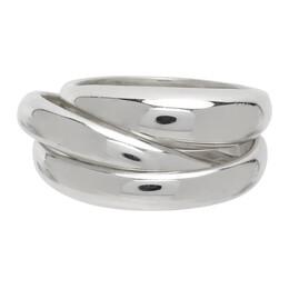 Sophie Buhai Silver Triple Stacking Ring Set SS21-R07-SS