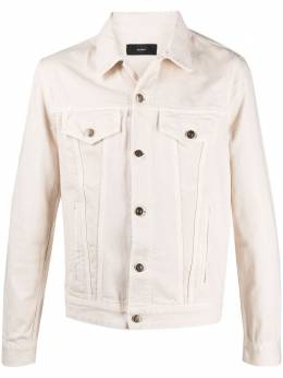 Alanui джинсовая куртка The Morning Horse LMYP004S21KNI0036185
