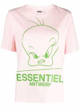 Essentiel Antwerp футболка с принтом Tweety ZINKER