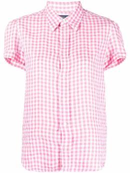 Polo Ralph Lauren рубашка в клетку гингем с короткими рукавами 211838074001