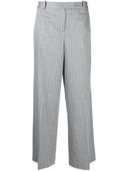 Circolo 1901 брюки в тонкую полоску FD1969