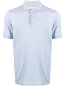 Brunello Cucinelli рубашка поло с короткими рукавами M0T638116C9604