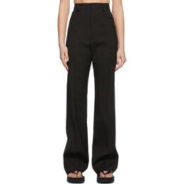 Jacquemus Black Le Pantalon Sauge Trousers 211PA03-211 103990