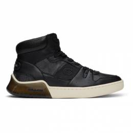 Coach 1941 Black Citysole High-Top Sneakers C3158 CBK