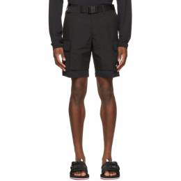 The North Face Black Black Box Utility Shorts NF0A4T22