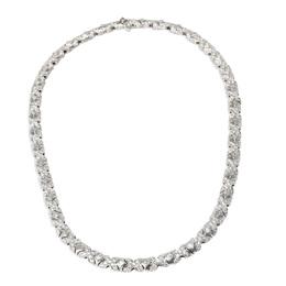 Bvlgari Tubini Diamond 18K White Gold Necklace 401101