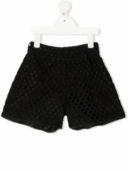 Mi Mi Sol шорты с вышивкой MFPA051TS0431