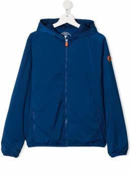 Save The Duck Kids непромокаемая куртка с капюшоном J39150X