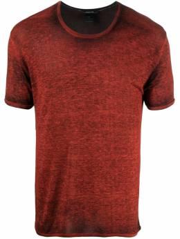 Avant Toi футболка с текстурным узором 221U2950JVLVH