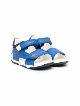 Geox Kids сандалии Tapuz с открытым носком B150XB05410