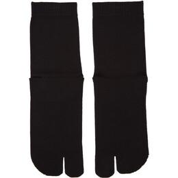 Maison Margiela Black Tabi Socks S50TL0024 S17264