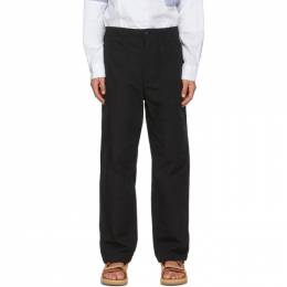 Engineered Garments Black Ripstop Fatigue Trousers 21S1F004