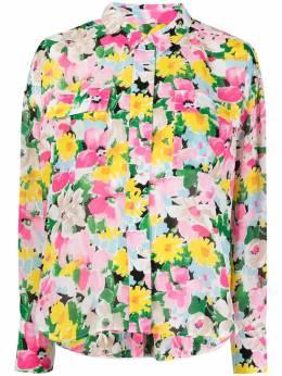 Essentiel Antwerp блузка с цветочным принтом ZUNCO