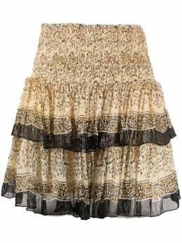 Mes Demoiselles ярусная юбка Shibou 21SHIBOU
