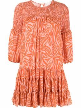 Cinq A Sept платье с принтом ZD13684221Z