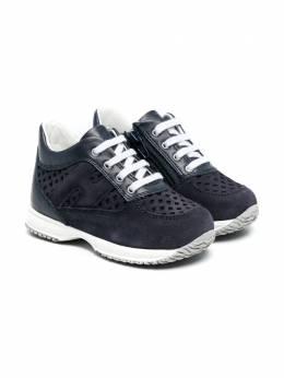 Hogan Kids кроссовки с перфорацией HXT0920DN80PGXU810