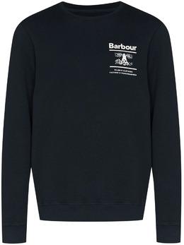 Barbour толстовка Reed с логотипом MOL0222NY91