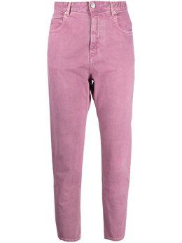 Isabel Marant Etoile зауженные джинсы с завышенной талией PA190121P065E