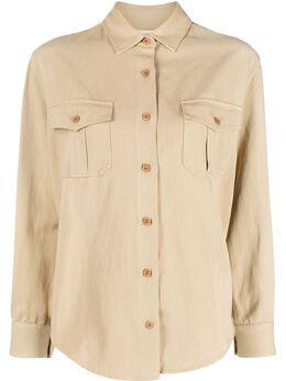 Nili Lotan куртка-рубашка с карманами 11359W731