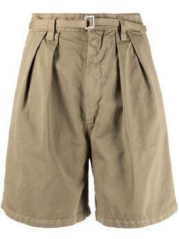 Haikure шорты с поясом и складками HEW03261GF029