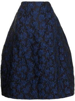 Simone Rocha жаккардовая юбка миди 30270424