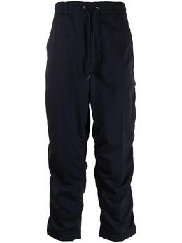 Junya Watanabe Man прямые брюки с кулиской WGP017051