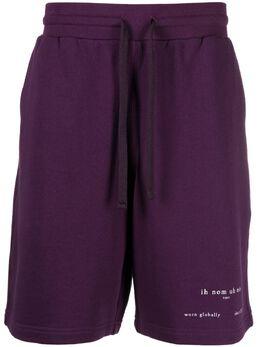 Ih Nom Uh Nit спортивные шорты с логотипом NUS21311