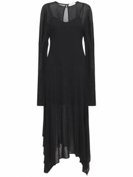 Платье Из Вискозы И Шелка Sportmax 73I50S016-MDAzIE5FUk81