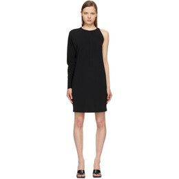 Sportmax Black Maser Mini Dress 26210511600 MM13174