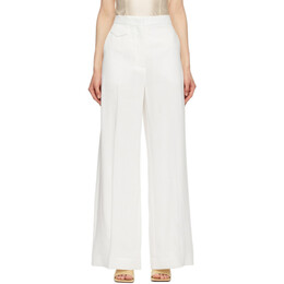 Sportmax White Clarion Trousers 21310411600 MM10258