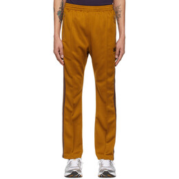 Needles Orange Smooth Narrow Track Lounge Pants IN182