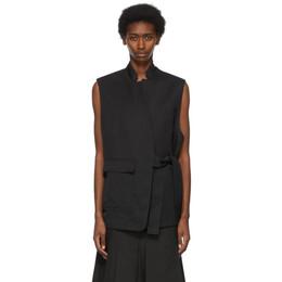 3.1 Phillip Lim Black Tie Vest S212-6379MSF