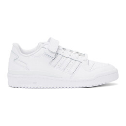 Adidas Originals White Forum Low Sneakers FY7755