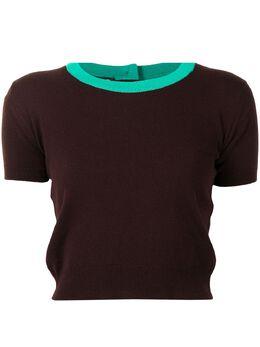 Chanel Pre-Owned кашемировая футболка 1995-го года 95AP05426W02250B0649